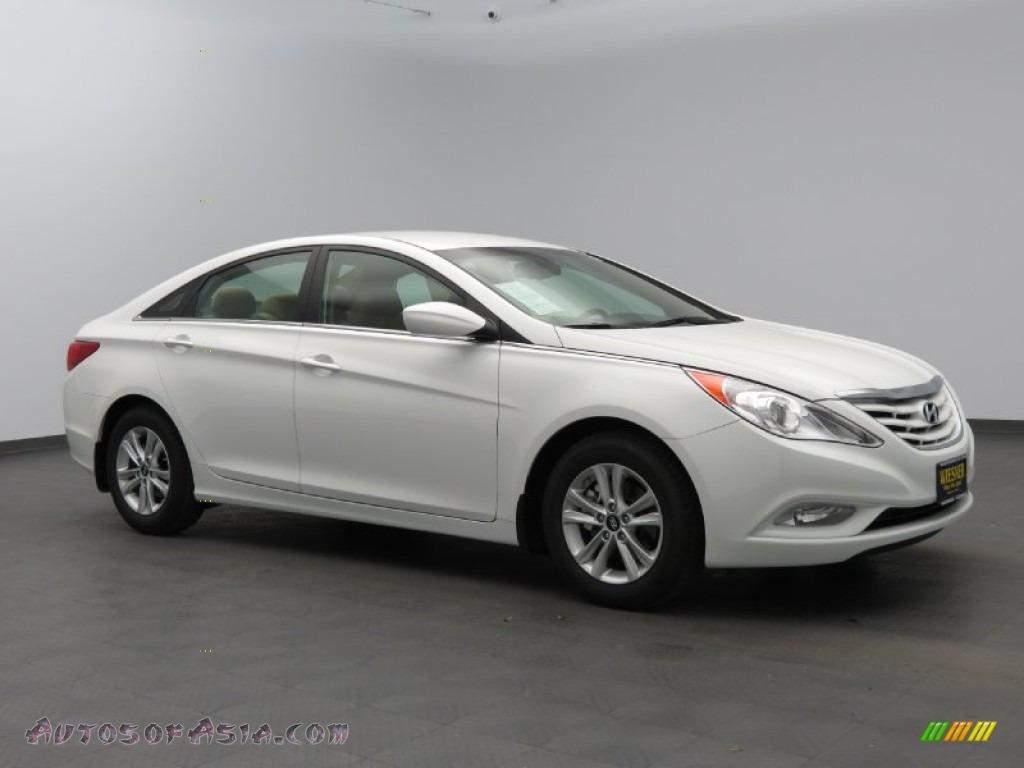 2013 Hyundai Sonata Gls In Shimmering White 769588