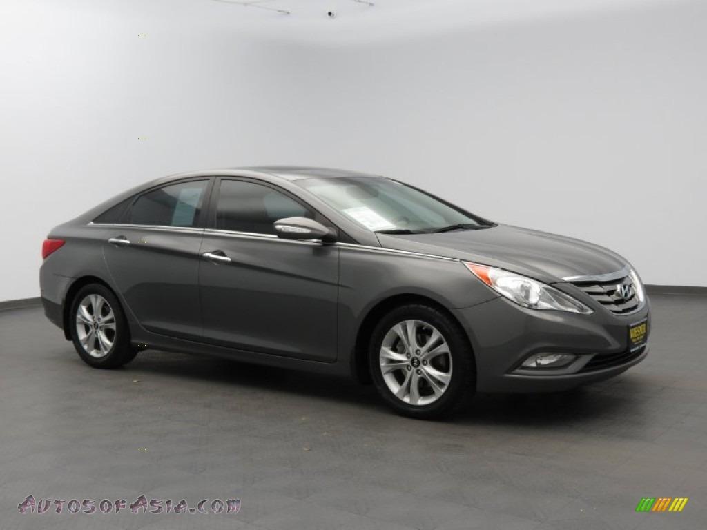 2011 Hyundai Sonata Limited In Harbor Gray Metallic