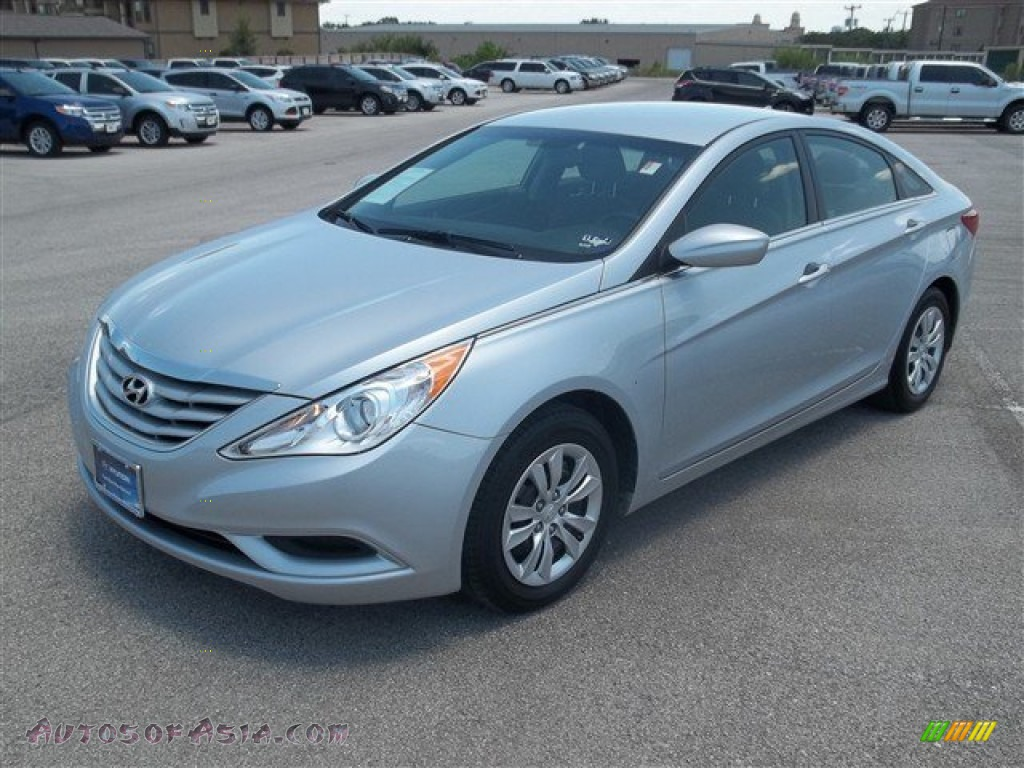 2012 Hyundai Sonata Gls In Iridescent Silver Blue Pearl 428956 Autos Of Asia Japanese And