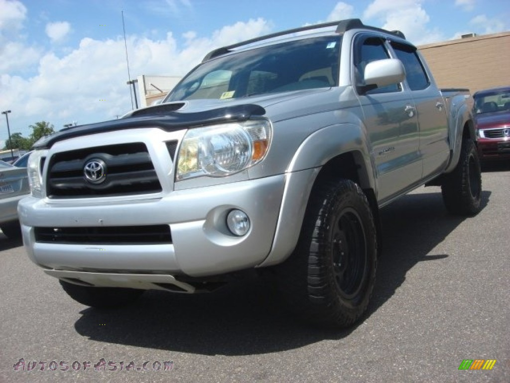 2008 toyota tacoma v6 trd sport double cab 4x4 in silver streak mica 479013 autos of asia. Black Bedroom Furniture Sets. Home Design Ideas