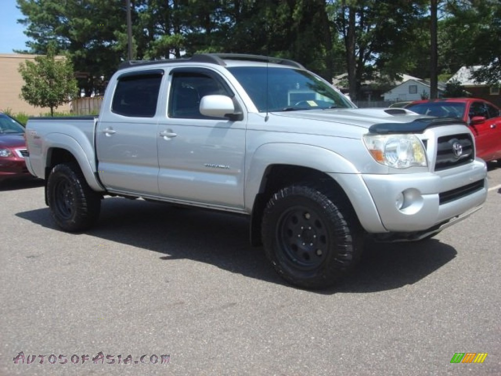 2008 toyota tacoma v6 trd sport double cab 4x4 in silver streak mica photo 7 479013 autos. Black Bedroom Furniture Sets. Home Design Ideas