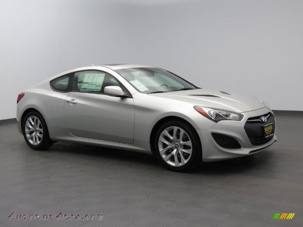 2013 Hyundai Genesis Coupe 2 0t Premium In Platinum