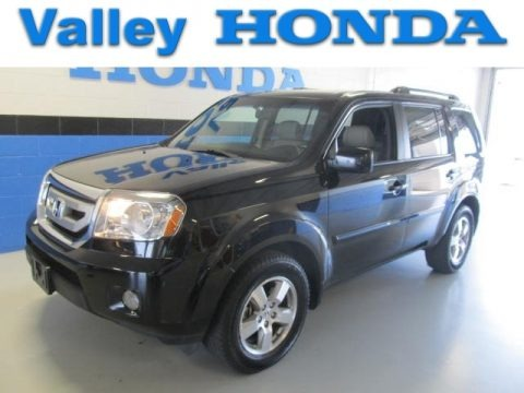 Ramsey Acura on Crystal Black Pearl Honda Pilot Ex L 4wd For Sale   Autos Of Asia