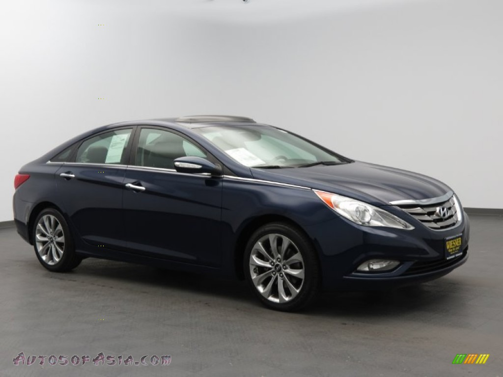 2011 hyundai sonata limited 2 0t in indigo blue pearl 175401 autos of asia japanese and. Black Bedroom Furniture Sets. Home Design Ideas