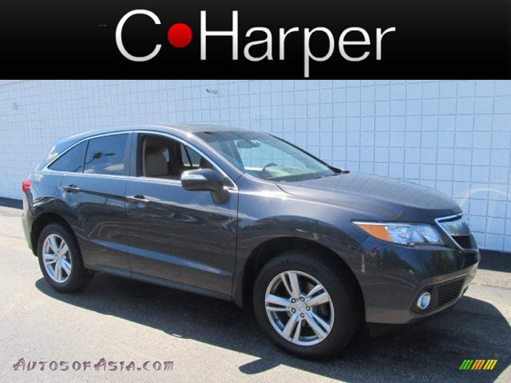 2013 acura rdx technology awd in graphite luster metallic 000132 autos of asia japanese. Black Bedroom Furniture Sets. Home Design Ideas