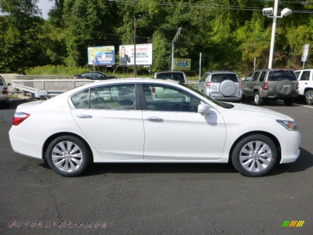 2014 Honda Accord Ex L Sedan In White Orchid Pearl Photo