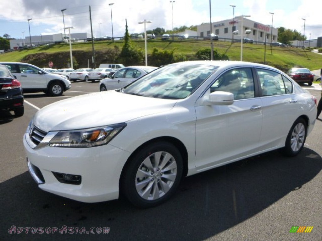 2014 honda accord ex l sedan in white orchid pearl photo for 2014 honda accord white