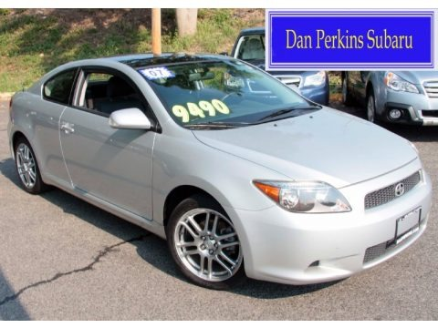 Baierl Acura on Classic Silver Metallic Scion Tc Standard Model For Sale   Autos Of