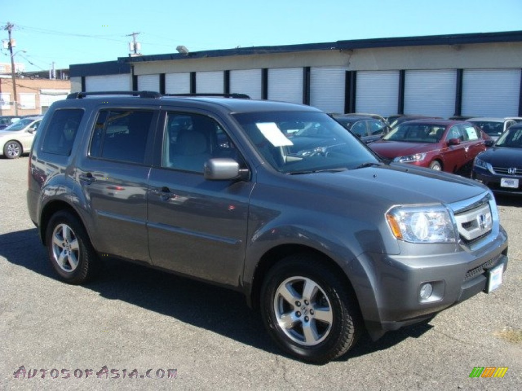 2011 Honda Pilot Ex 4wd In Polished Metal Metallic