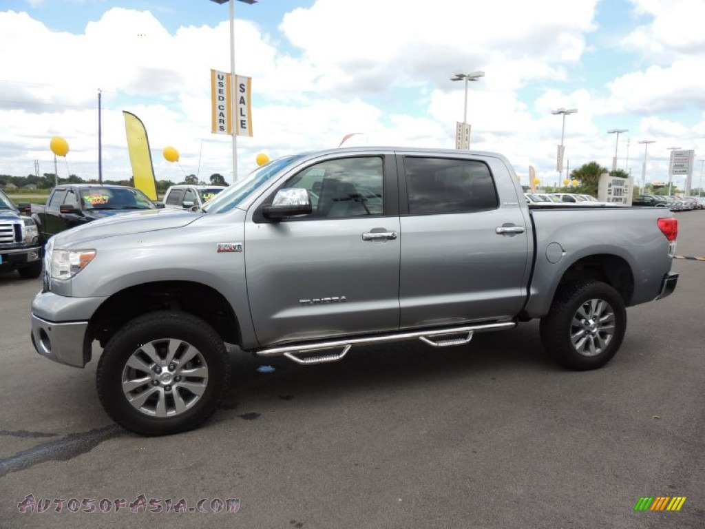 2011 Toyota Tundra Limited Crewmax 4x4 In Silver Sky