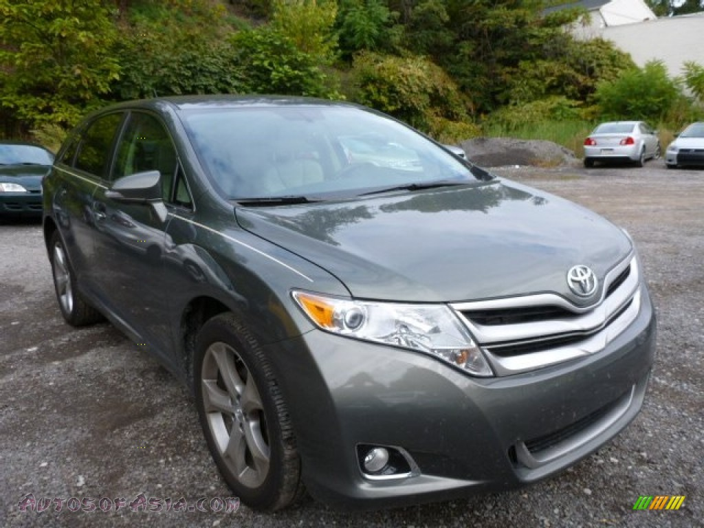 2013 toyota venza xle awd in cypress green pearl 075137. Black Bedroom Furniture Sets. Home Design Ideas