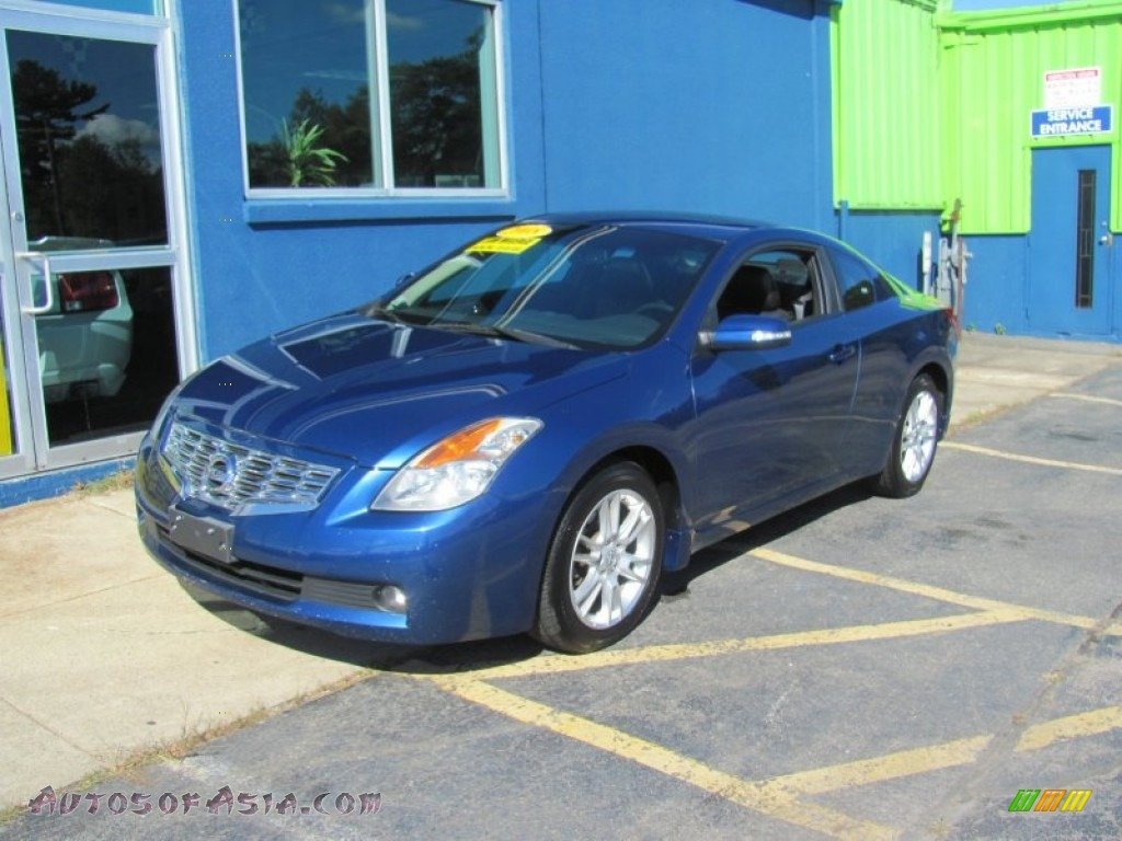 2008 Nissan Altima 3 5 Se Coupe In Azure Blue Metallic