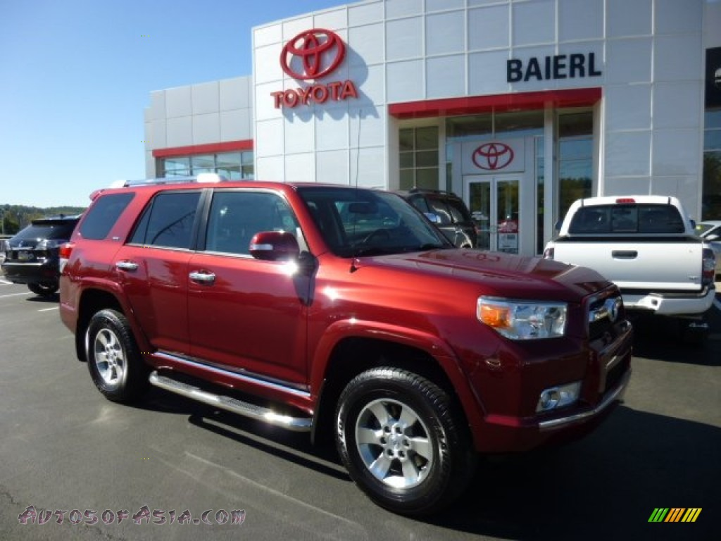 2010 toyota 4runner sr5 4x4 in salsa red pearl 031642 autos of asia japanese and korean. Black Bedroom Furniture Sets. Home Design Ideas