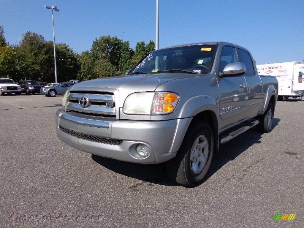 2004 toyota tundra sr5 double cab 4x4 in silver sky. Black Bedroom Furniture Sets. Home Design Ideas