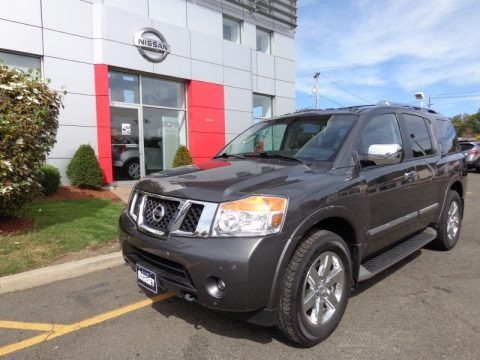 Ramsey Acura on 2012 Nissan Armada Platinum 4wd In Espresso Black   601942   Autos Of