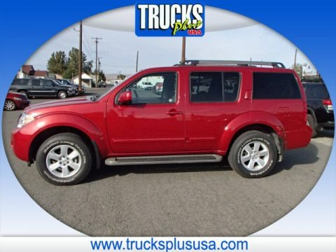 Red Brick 2012 Nissan Pathfinder S 4x4