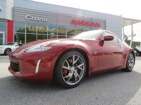 Ramsey Acura on 2009 Nissan 370z Sport Touring Coupe In Brilliant Silver   403704