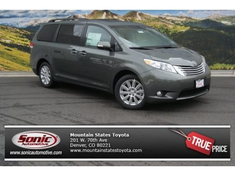 Baierl Acura on 2011 Toyota Sienna Limited Awd In Cypress Green Pearl Photo  9