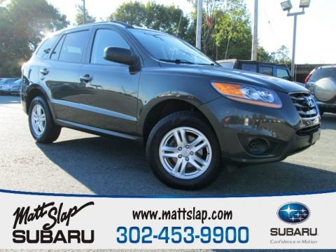 Black Forest Green Metallic 2010 Hyundai Santa Fe GLS 4WD