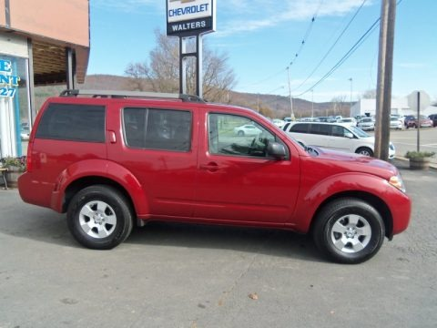Red Brick 2011 Nissan Pathfinder S 4x4