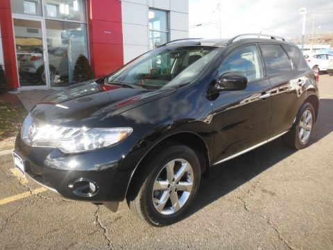 Super Black 2010 Nissan Murano SL AWD