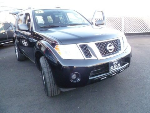 Super Black 2011 Nissan Pathfinder S 4x4