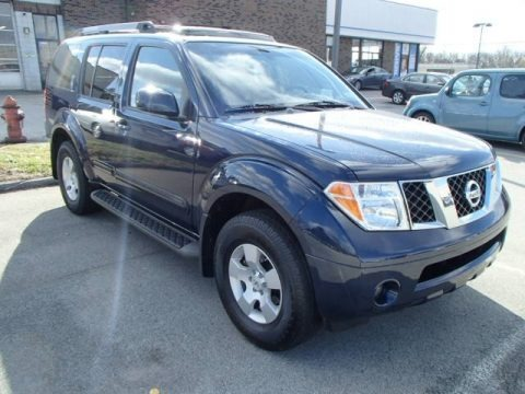 Majestic Blue Metallic 2007 Nissan Pathfinder S 4x4