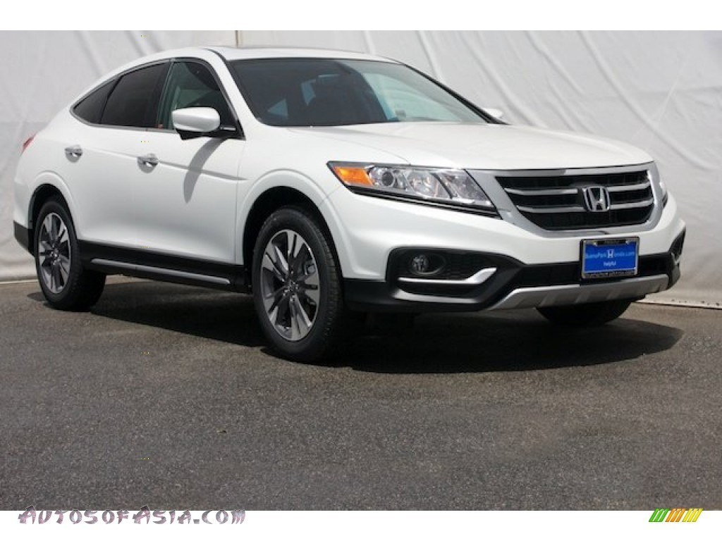 2014 Honda Crosstour Ex V6 In White Diamond Pearl 000795