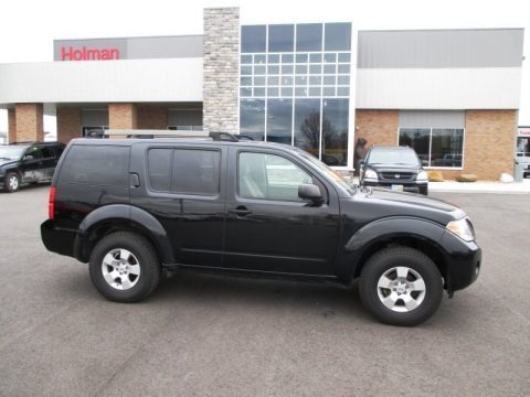 Super Black 2008 Nissan Pathfinder S 4x4