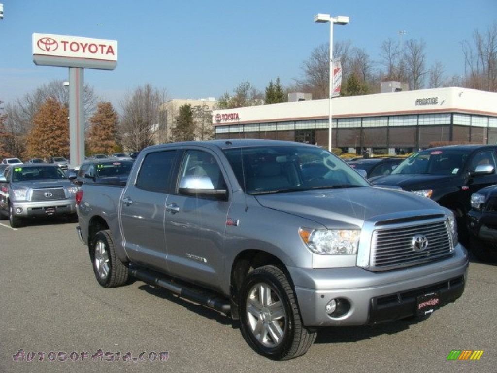 2010 toyota tundra limited crewmax 4x4 in silver sky metallic photo 3 134751 autos of asia. Black Bedroom Furniture Sets. Home Design Ideas