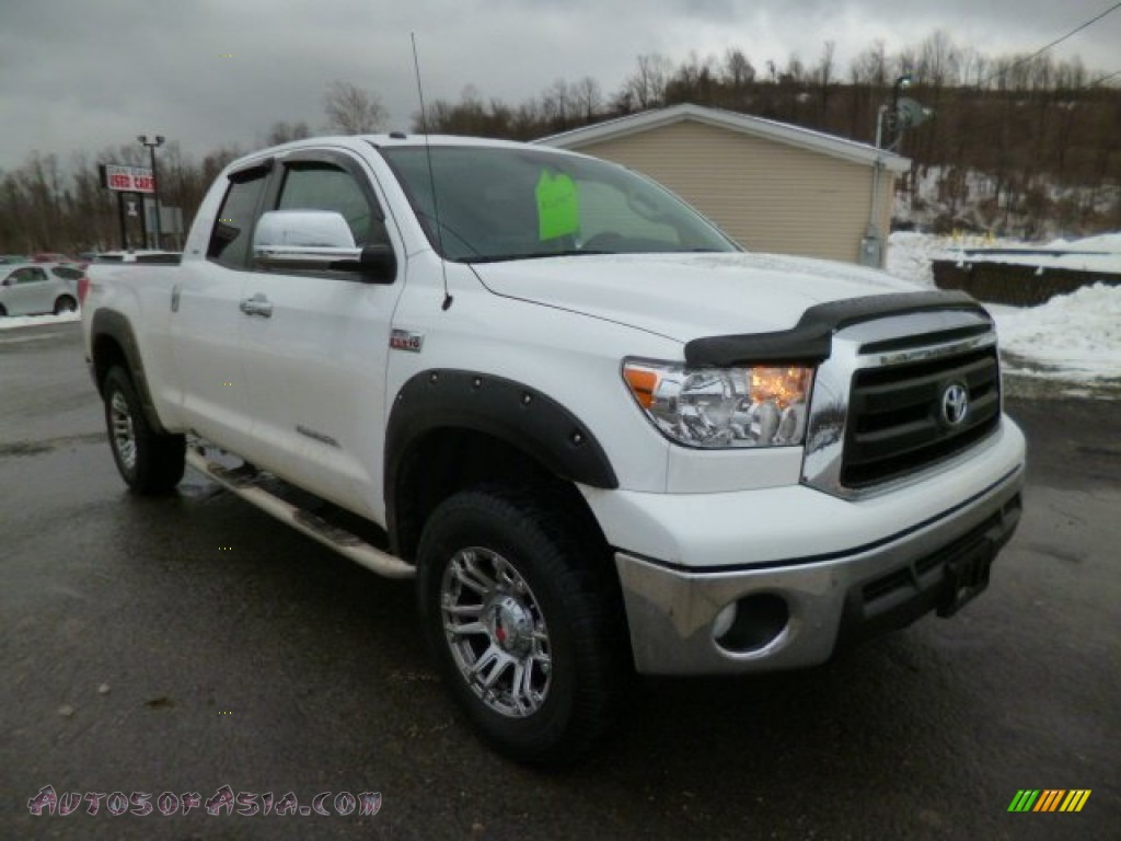 2013 toyota tundra trd double cab 4x4 in super white 289035 autos of asia japanese and. Black Bedroom Furniture Sets. Home Design Ideas
