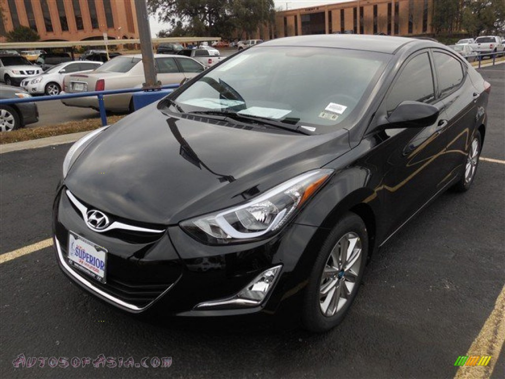 2014 Hyundai Elantra SE Sedan in Black - 072029Hyundai Elantra 2014 Black
