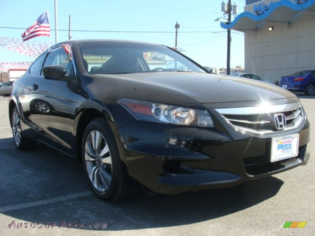 2012 honda accord lx s coupe in crystal black pearl. Black Bedroom Furniture Sets. Home Design Ideas