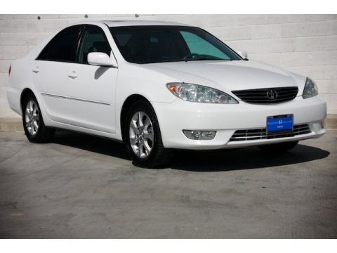super white toyota camry xle v6 for sale autos of asia. Black Bedroom Furniture Sets. Home Design Ideas