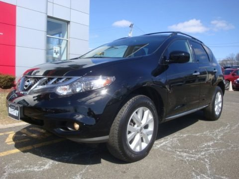 Super Black 2011 Nissan Murano SL AWD