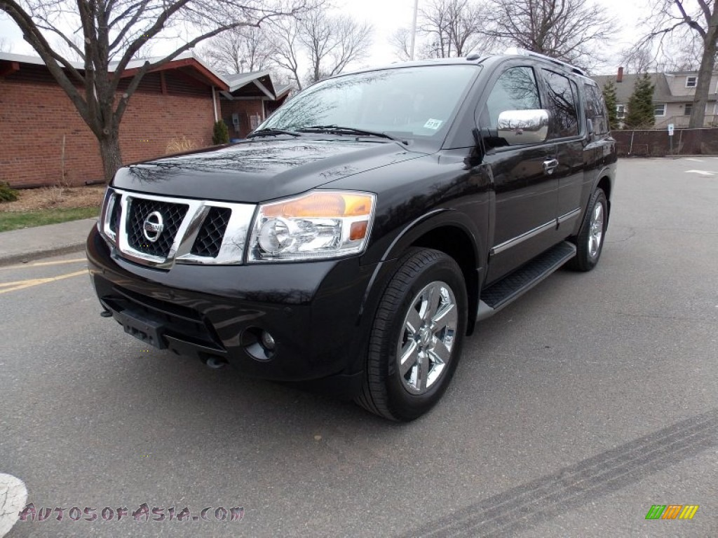 2011 nissan armada platinum 4wd in galaxy black 602421 autos of asia japanese and korean. Black Bedroom Furniture Sets. Home Design Ideas