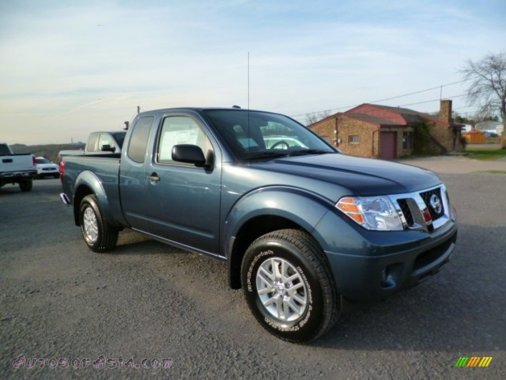 2014 Nissan Frontier Sv King Cab 4x4 In Graphite Blue