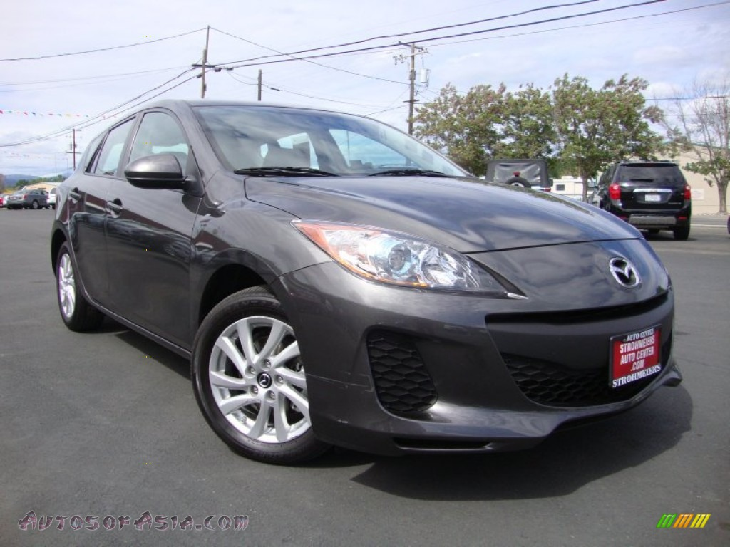2013 mazda mazda3 i touring 5 door in graphite mica 790470 autos of asia japanese and. Black Bedroom Furniture Sets. Home Design Ideas