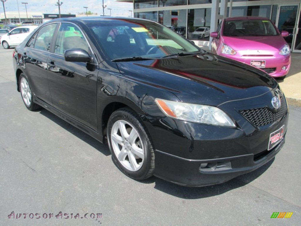 Renn Kirby Mitsubishi >> 2008 Toyota Camry SE in Black - 234354 | Autos of Asia - Japanese and Korean Cars for sale in the US