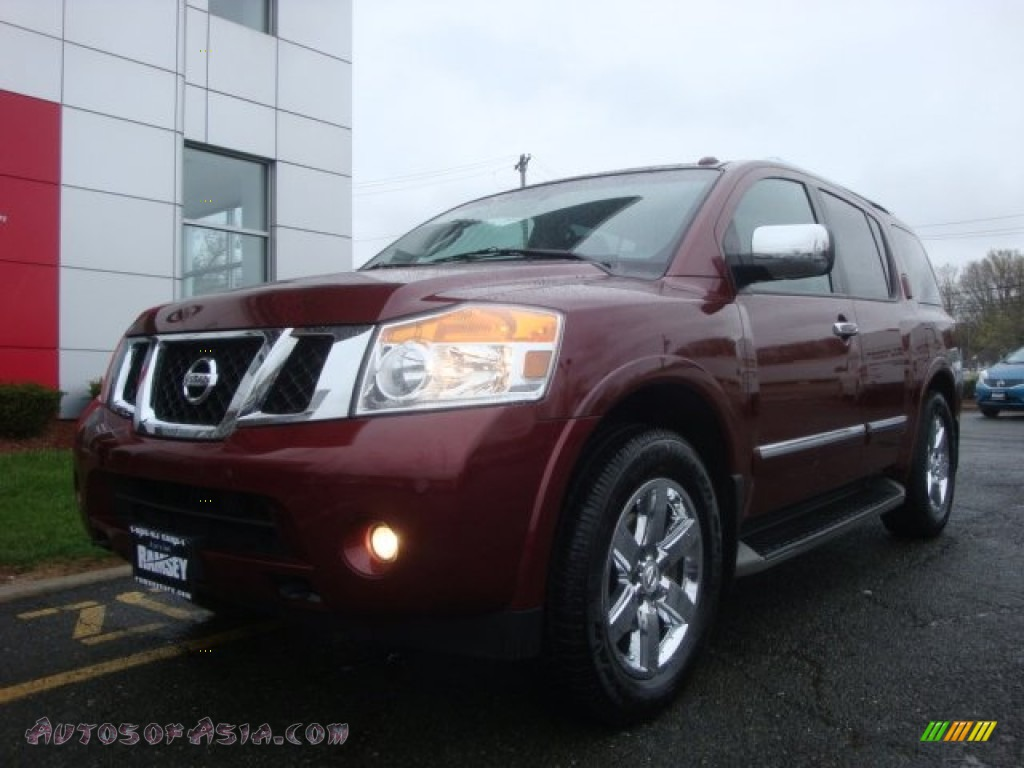 2011 nissan armada platinum 4wd in tuscan sun 615768 autos of asia japanese and korean. Black Bedroom Furniture Sets. Home Design Ideas