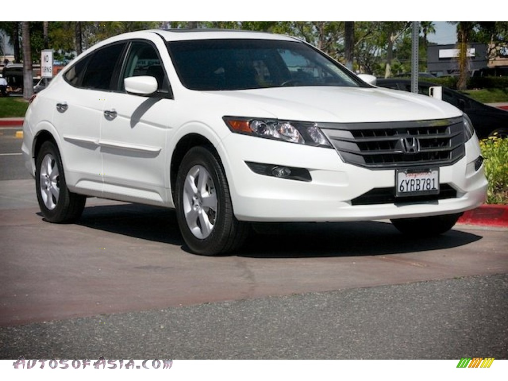 2012 honda accord crosstour ex in white diamond pearl 006829 autos of asia japanese and. Black Bedroom Furniture Sets. Home Design Ideas