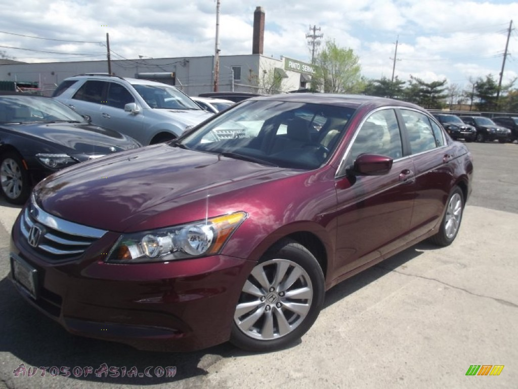 2011 Honda Accord Ex L Sedan In Basque Red Pearl 131579