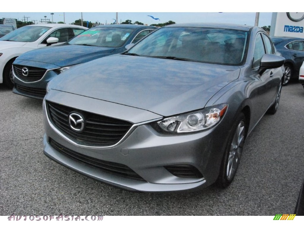 2015 mazda mazda6 touring in liquid silver metallic 166388 autos of asia japanese and. Black Bedroom Furniture Sets. Home Design Ideas