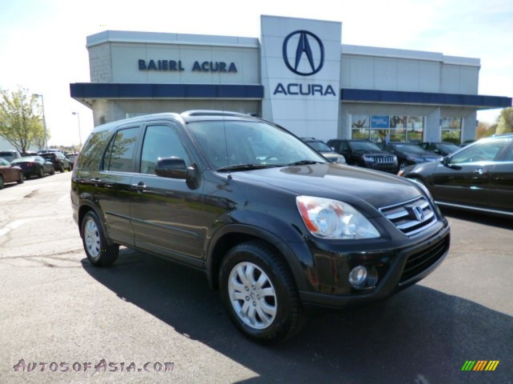 2005 honda cr v special edition 4wd in nighthawk black pearl 340374 autos of asia japanese. Black Bedroom Furniture Sets. Home Design Ideas