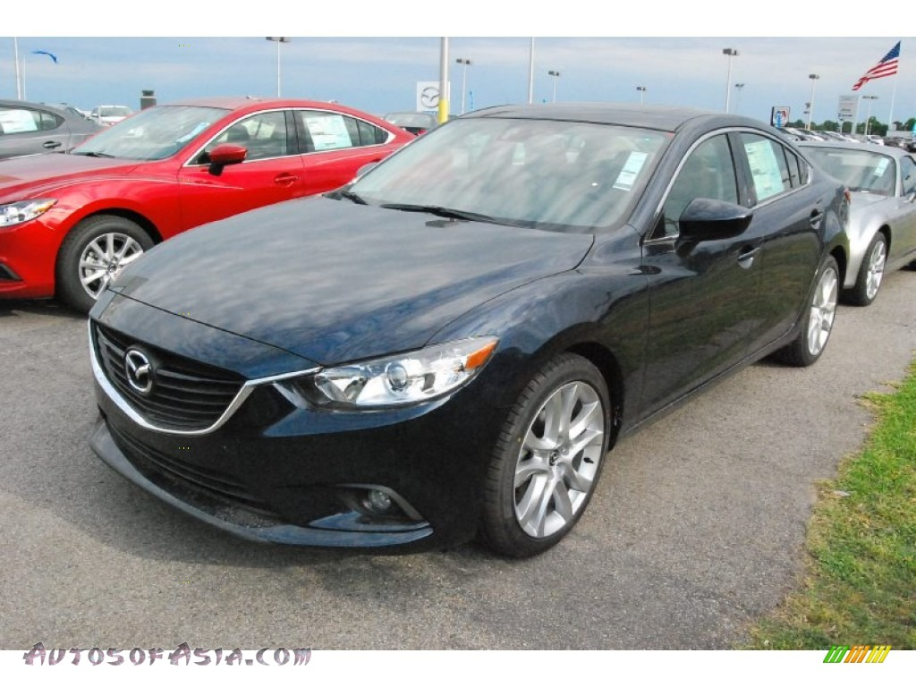 2015 mazda mazda6 touring in deep crystal blue 174031 autos of asia japanese and korean. Black Bedroom Furniture Sets. Home Design Ideas