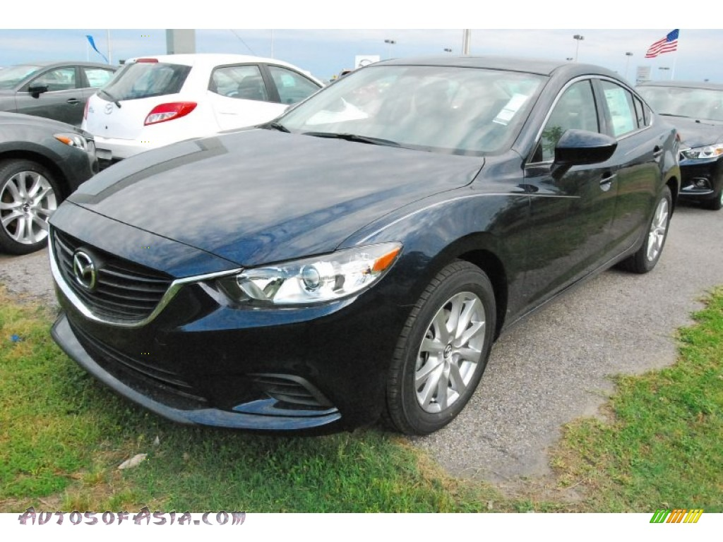 2015 mazda mazda6 sport in deep crystal blue 175004 autos of asia. Black Bedroom Furniture Sets. Home Design Ideas