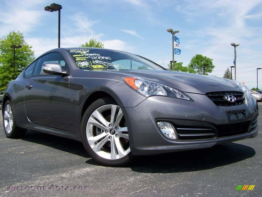 2010 hyundai genesis coupe 3 8 coupe in nordschleife gray 003433 autos of asia japanese. Black Bedroom Furniture Sets. Home Design Ideas