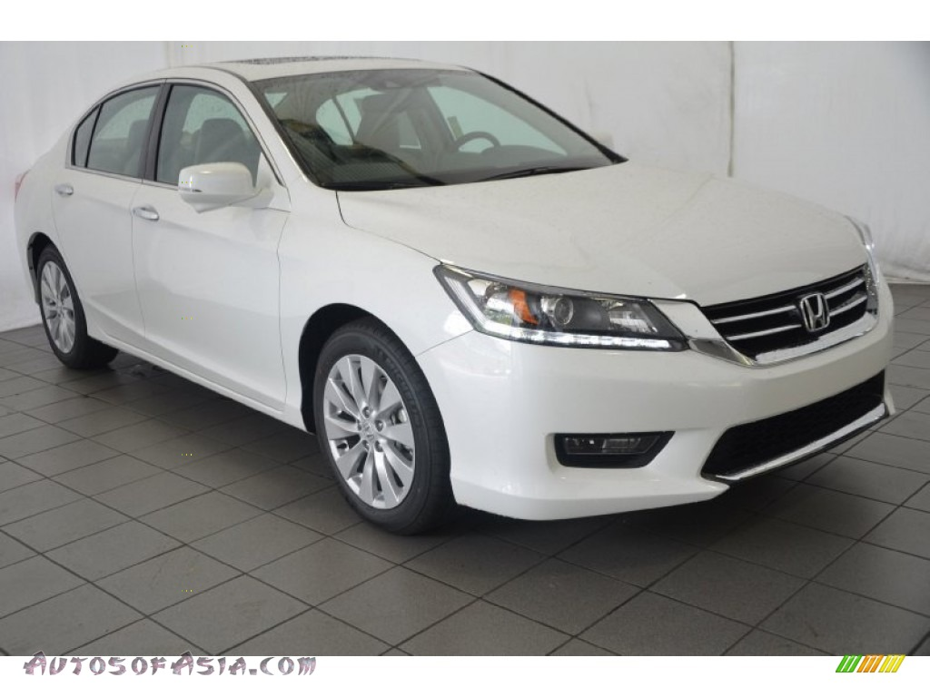 2014 honda accord ex l v6 sedan in white orchid pearl for 2014 honda accord white