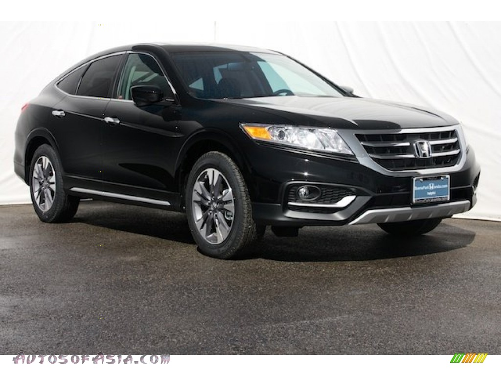 2014 honda crosstour ex v6 in crystal black pearl 001876 autos of asia japanese and korean. Black Bedroom Furniture Sets. Home Design Ideas
