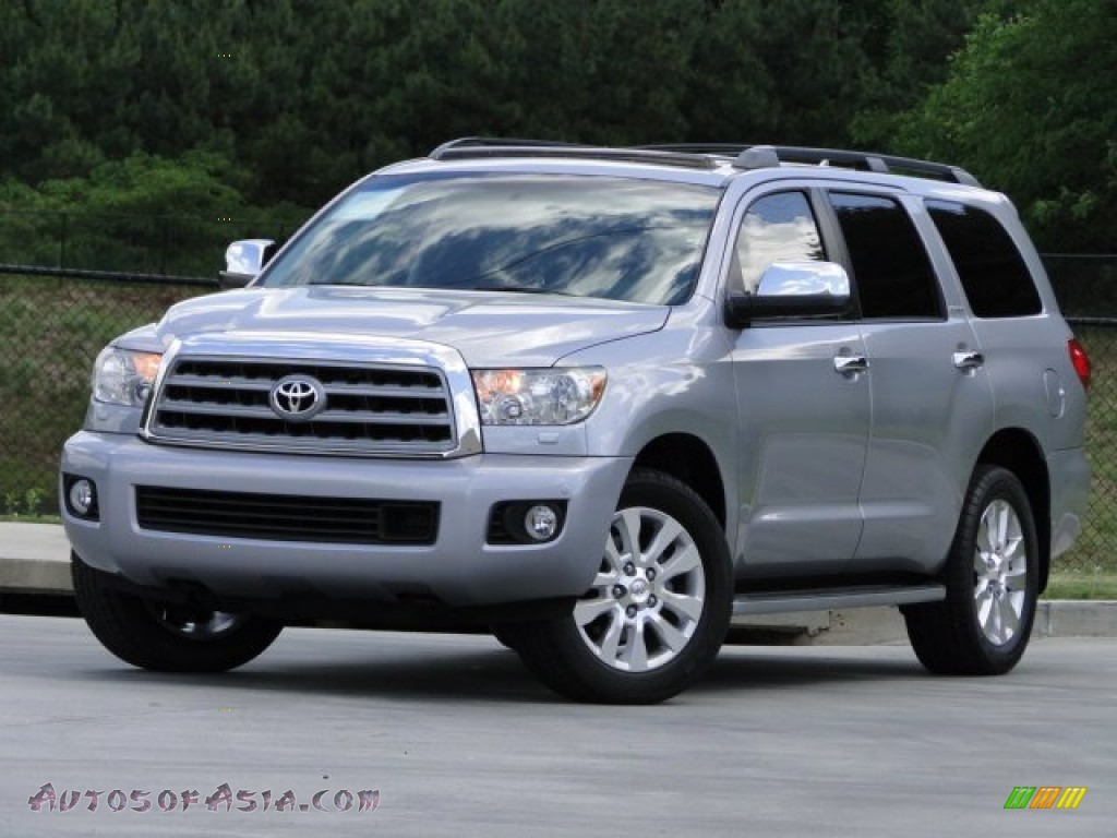 2010 Toyota Sequoia Platinum In Silver Sky Metallic